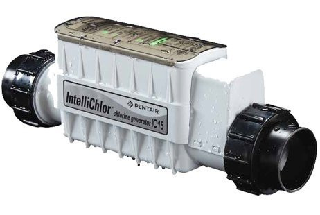 Pentair A/G IntelliChlor IC15 Salt Cell System Generator (Canadian Version) w/ Power Supply 522109