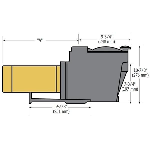 Hayward 1.5 HP Inground Super Pump