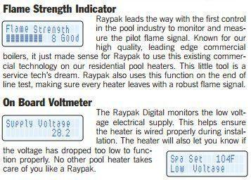 Raypak 336A Milivolt 332,500 BTU Propane Heater