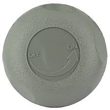 "Cover, 1"" On/Off Valve - Grey"