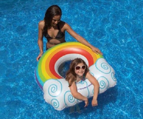 Kids Rainbow Ring Float