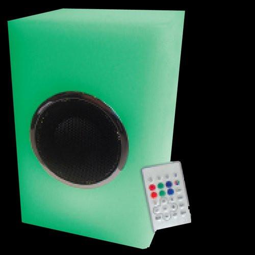 Wireless Multi-Colour LED Cube Bluetooth Speaker