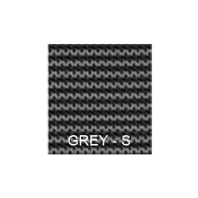 14' x 28' Rectangle with Left 1' Offset, 8' x 4' Step Safety Cover: Silver Deluxe Mesh