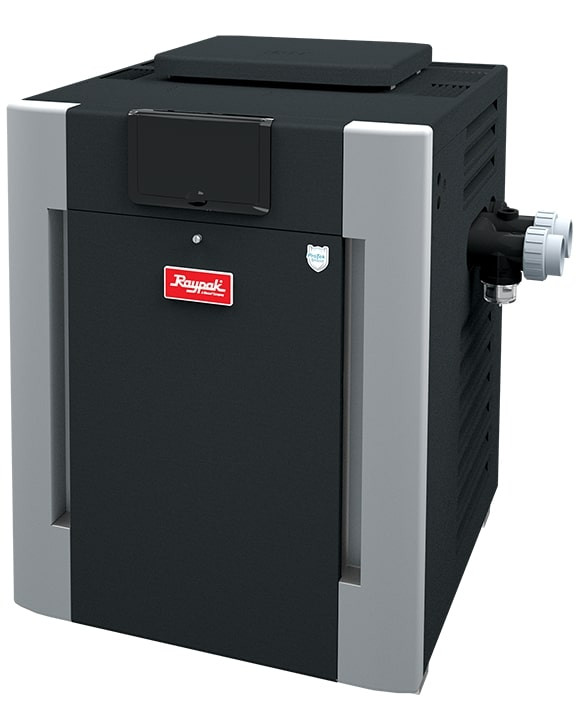 Raypak 206A, Electronic 199,500 BTU Natural Gas Heater