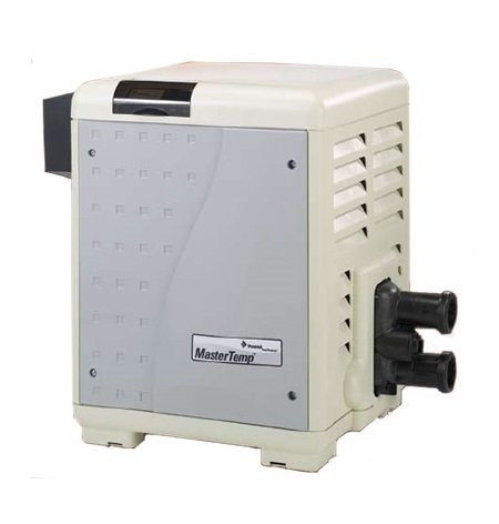 Pentair 250K BTU, Natural Gas MasterTemp Electronic Heater (460732)
