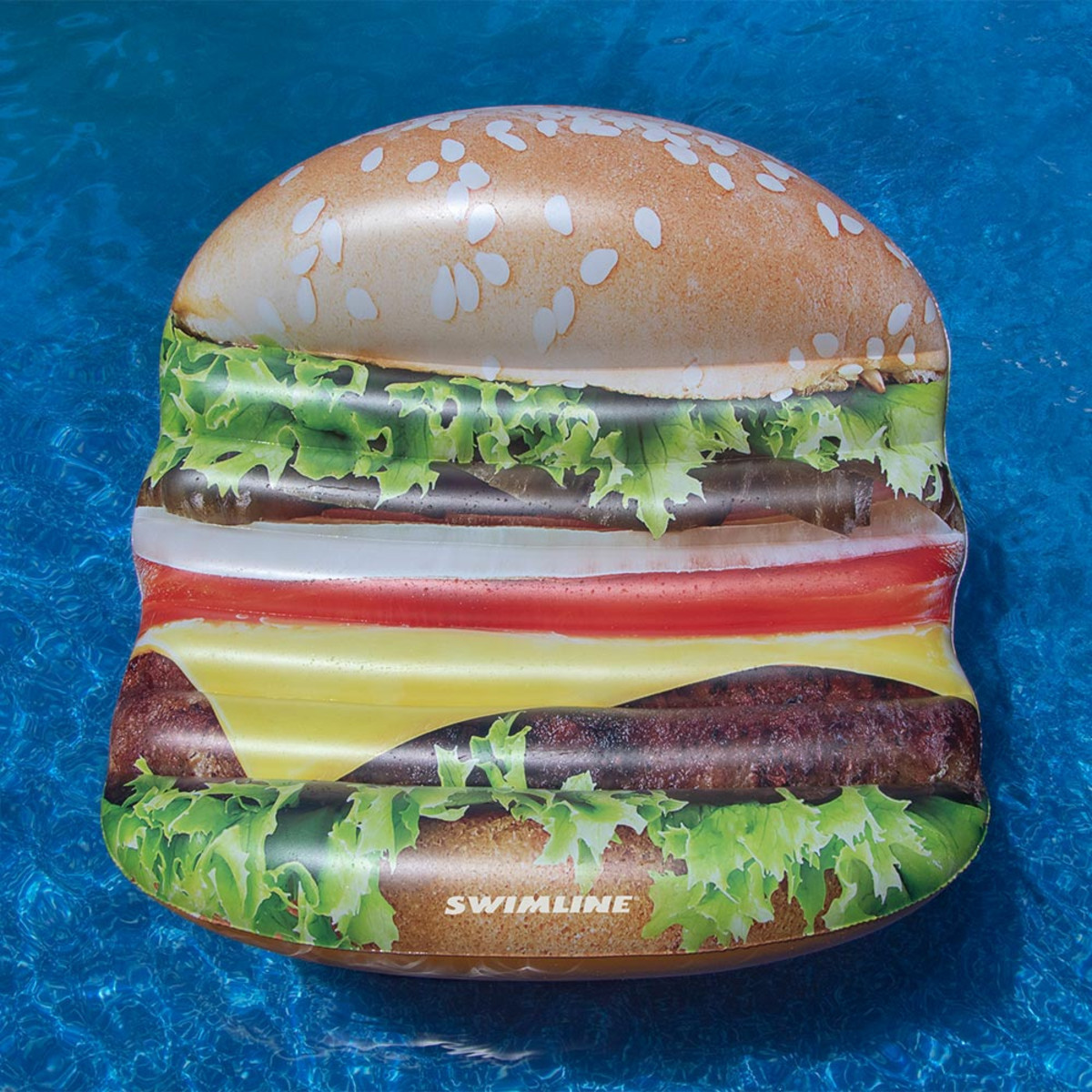 Deluxe Cheese burger Island Float
