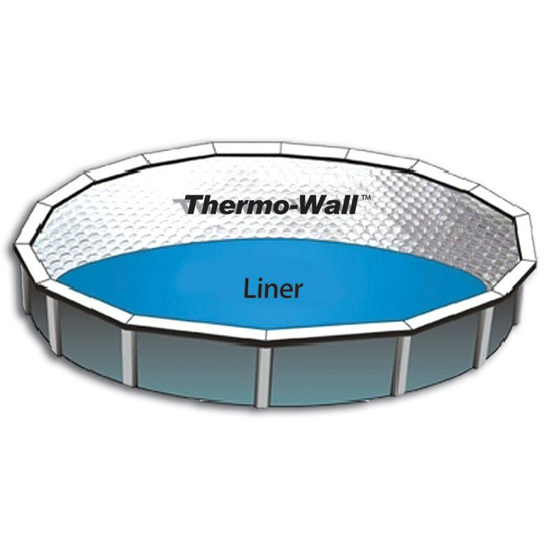 Thermo-Wall Pool Insulation, 4'W x 125'L Roll (500 sq/ft)