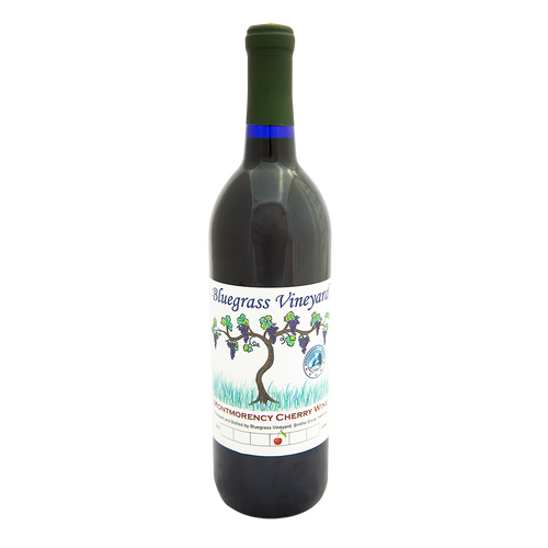 Montmorency Cherry Wine | Bluegrass Vineyard | Smiths Grove Kentucky