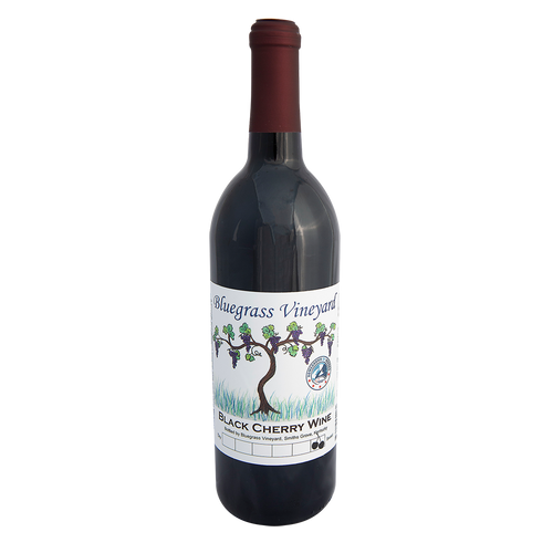 Black Cherry Wine | Bluegrass Vineyard | Smiths Grove Kentucky
