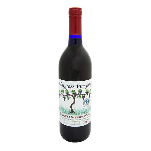 Sweet Cherry Wine | Bluegrass Vineyard | Smiths Grove Kentucky