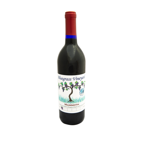 Mammoth Merlot | Bluegrass Vineyard | Smiths Grove Kentucky