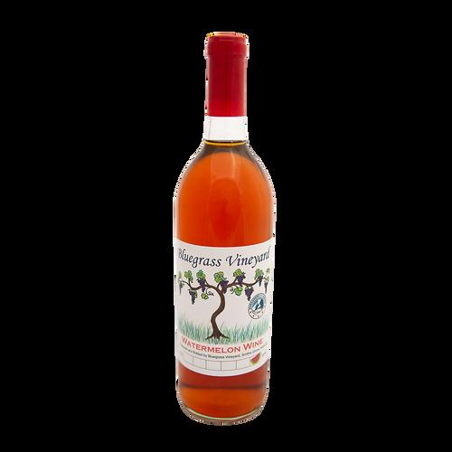 Watermelon Wine | Bluegrass Vineyard | Smiths Grove Kentucky