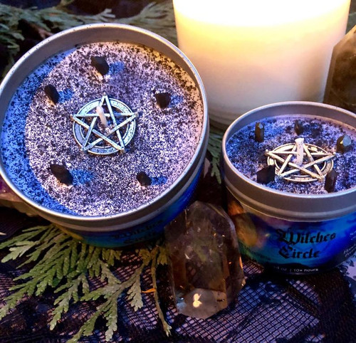 Witches Circle Candle
