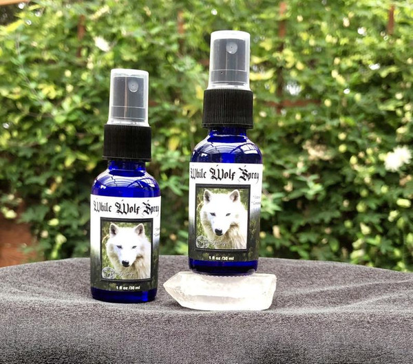 White Wolf Empath Room & Body Spray
