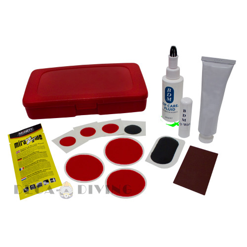 Viking Drysuit Repair Kit,  For Pro / HD Suits - Red/Black