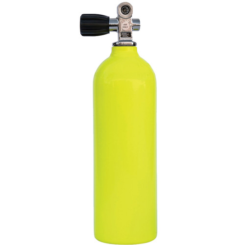 Aluminum Cylinder - 13 cu ft - Yellow - Thermo K Valve