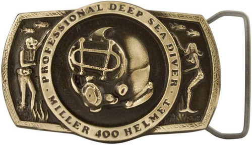 Miller Belt Buckle Front