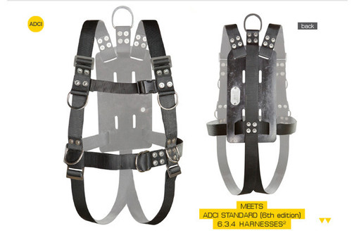 Full Body Harness with Shoulder Adjusters