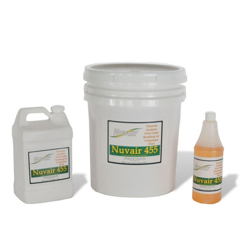 Nuvair 455 Compressor Oil