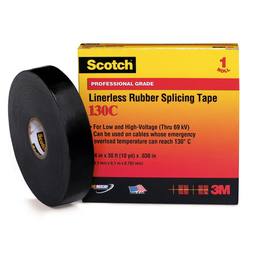 3M Scotch 130C Rubber Splicing Tape