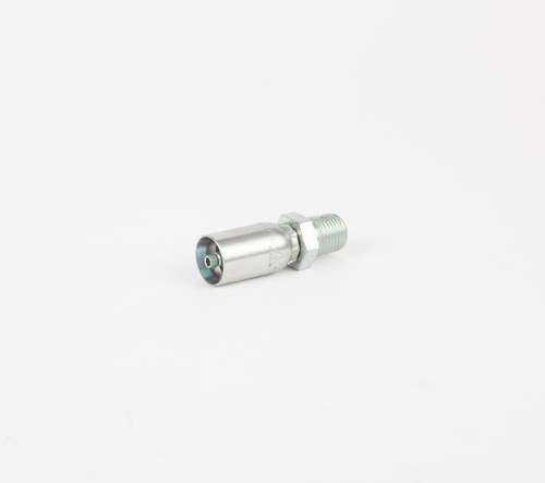 """Zinc Plated Steel for Synflex 3R80, 3/16"""" ID to 1/4"""" MPT Rigid"""