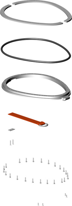 Dry Suit Neck Ring Kit