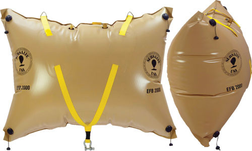 Subsalve Enclosed Floatation Bags