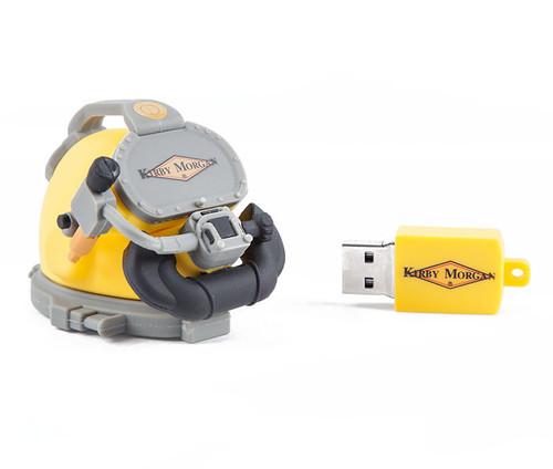 16GB USB Helmet Drive