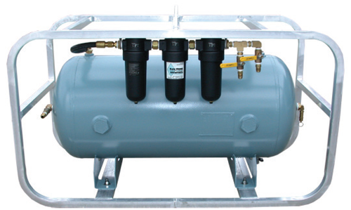 Volume Tank, Plumbed, 30-Gallon, 3-Stage Filtration
