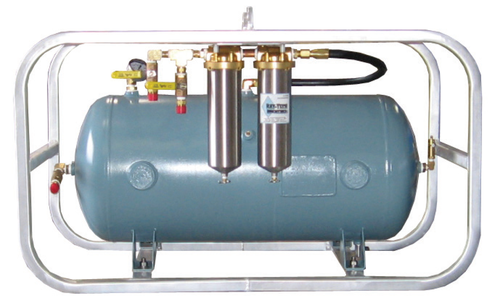 Volume Tank, Plumbed, 30-Gallon, 2-Stage Filtration