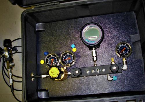 Pressure Gauge Comparitor