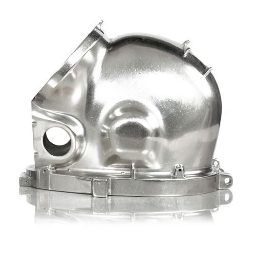 Helmet Shell, Stainless Steel