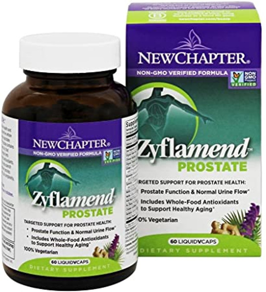 New Chapter Zyflamend Prostate Support -60 Vegetarian Capsules