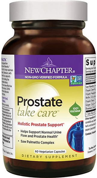 New chapter Prostate Take Care 60 VCapsules, Holistic Prostate Support