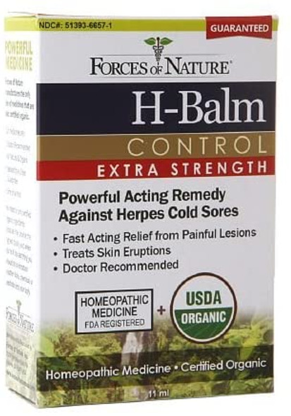 Forces of Nature H-Balm Control Extra Strength, 11ml