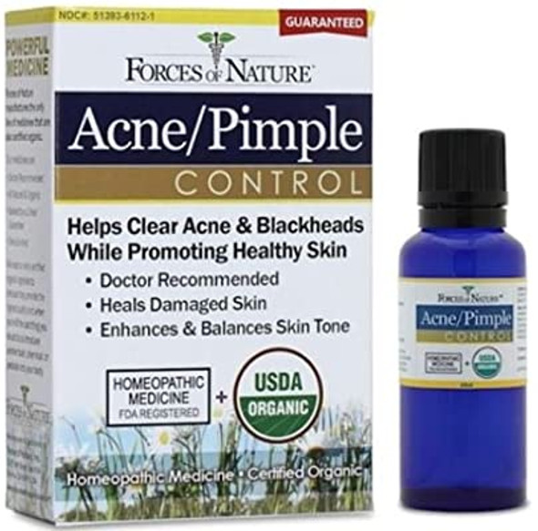 Forces of Nature - Acne/Pimple Control - 11ml Bottle