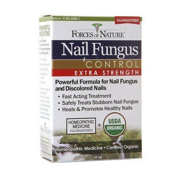 forces of nature nail fungus control extra strength - 11 ml
