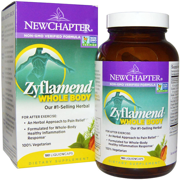 new chapter zyflamend whole body 180 vegetarian capsules