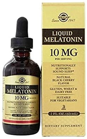 solgar melatonin liquid,  Solgar Liquid Melatonin 10 MG-2 oz