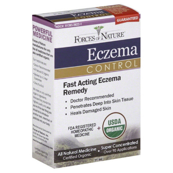force of nature eczema control, forces of nature eczema control oil