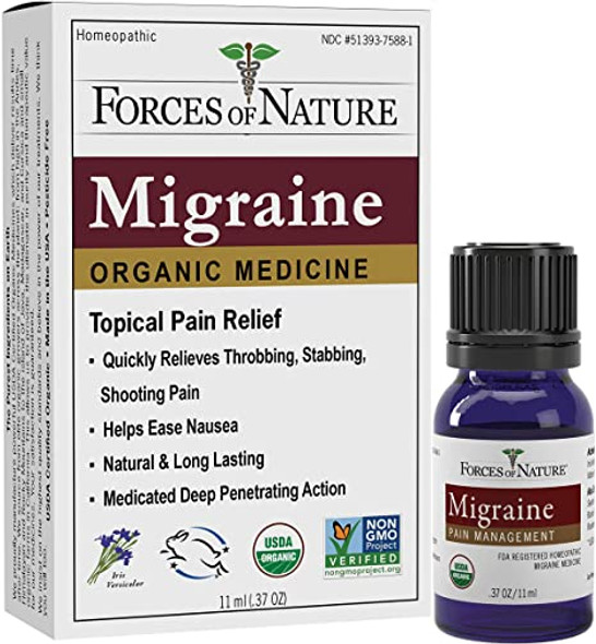 forces of nature migraine pain relief 11ml