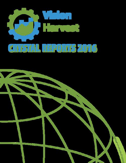 Crystal Reports 2016 Designer 1 Instructor's Guide