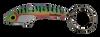 SteelShad Perch (Firetiger) Key Ring