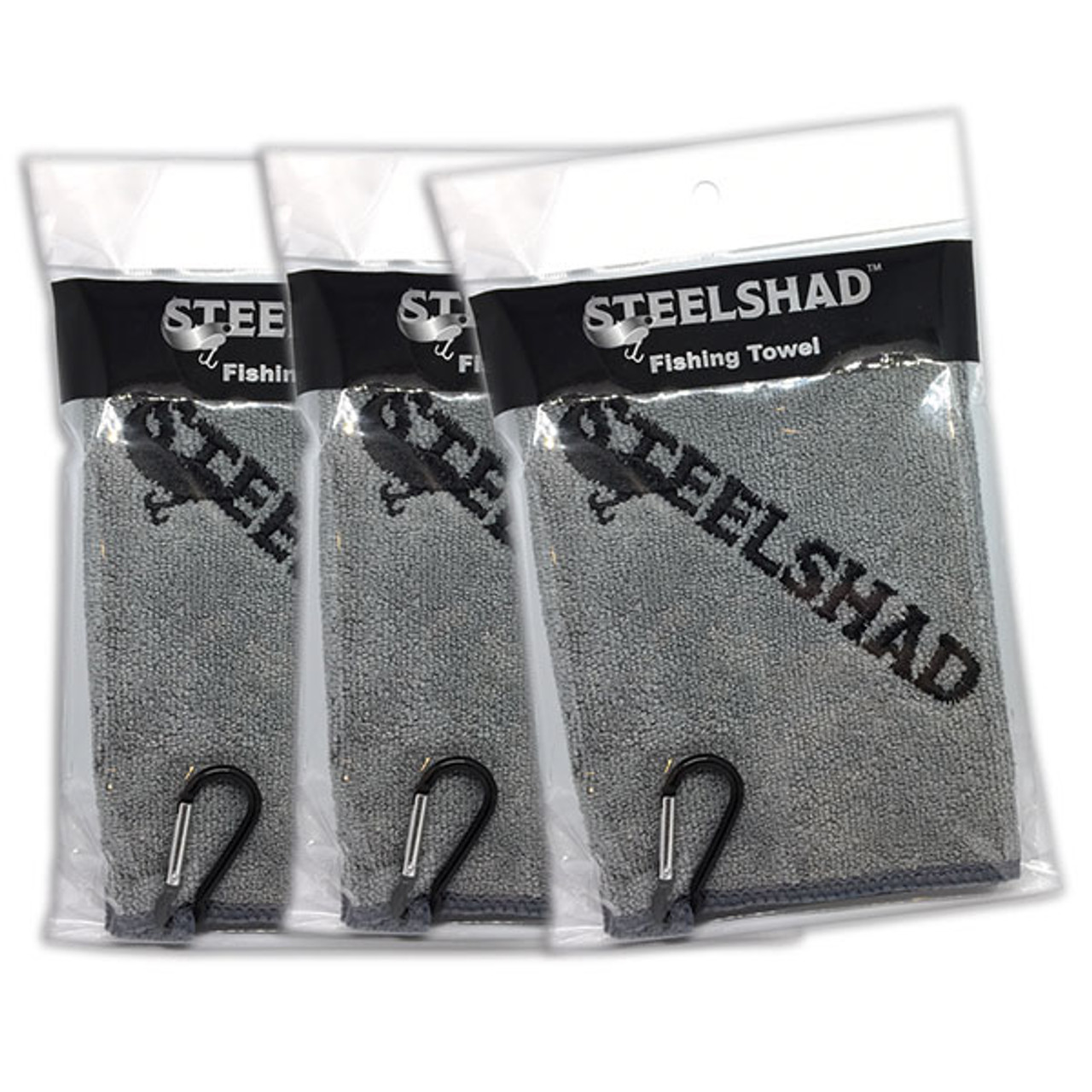 SteelShad Fishing Towel - 3 Pack