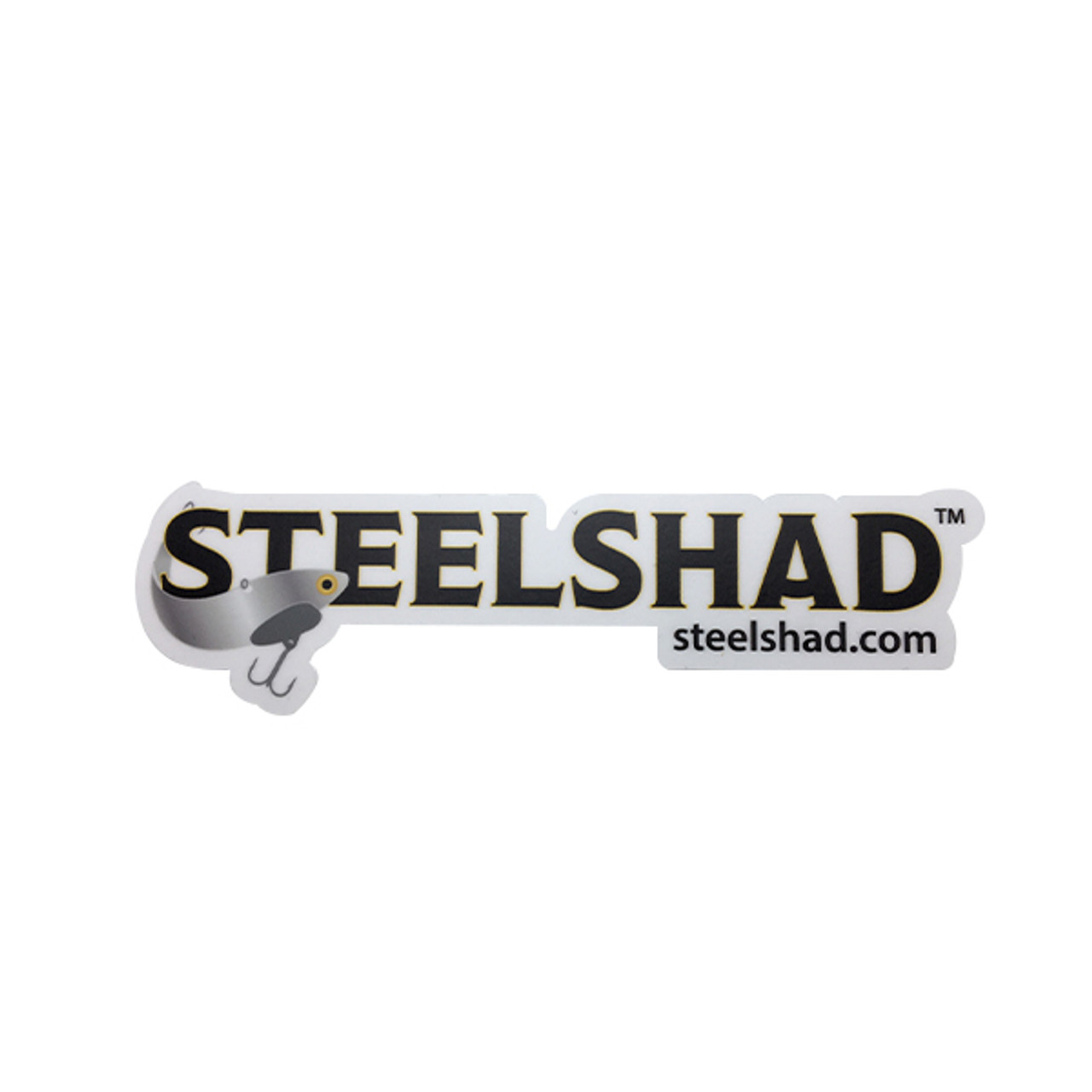 SteelShad Logo Sticker - Small