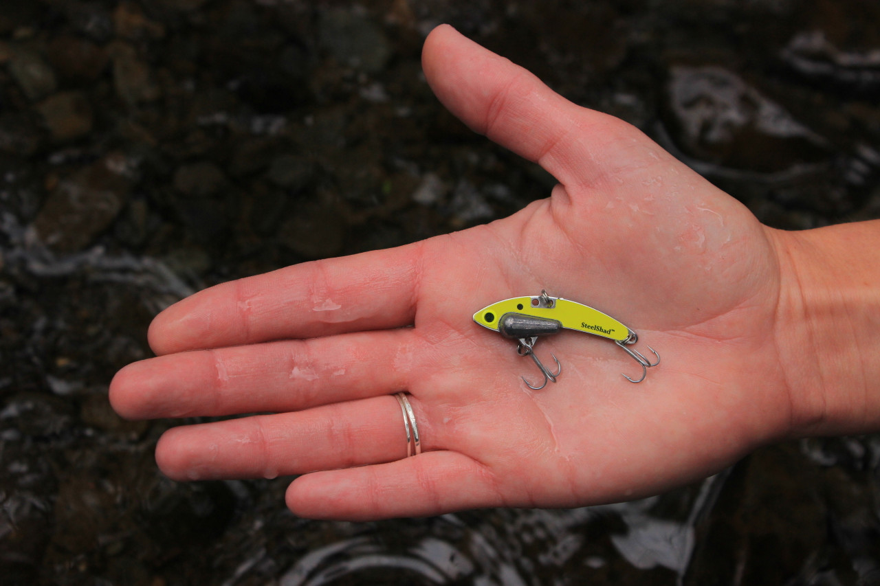 The SteelShad Mini Series - Yellow Shad