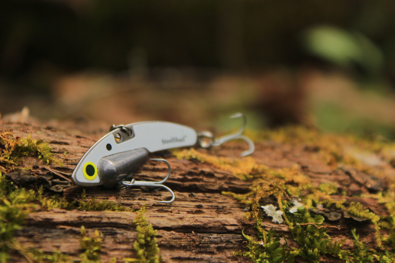 The SteelShad Mini Series - White Shad (2pk)
