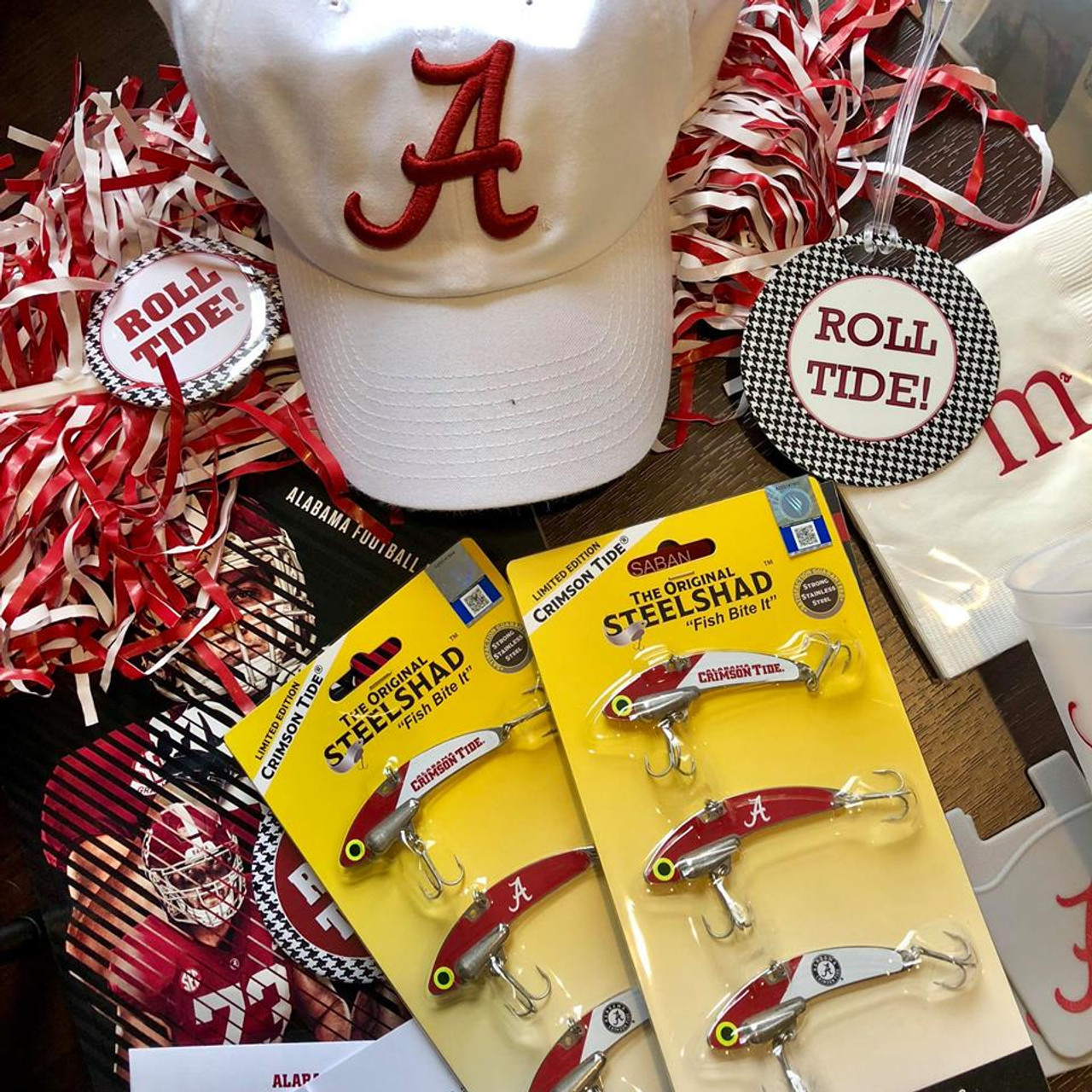 SteelShad University of Alabama 3 Pack