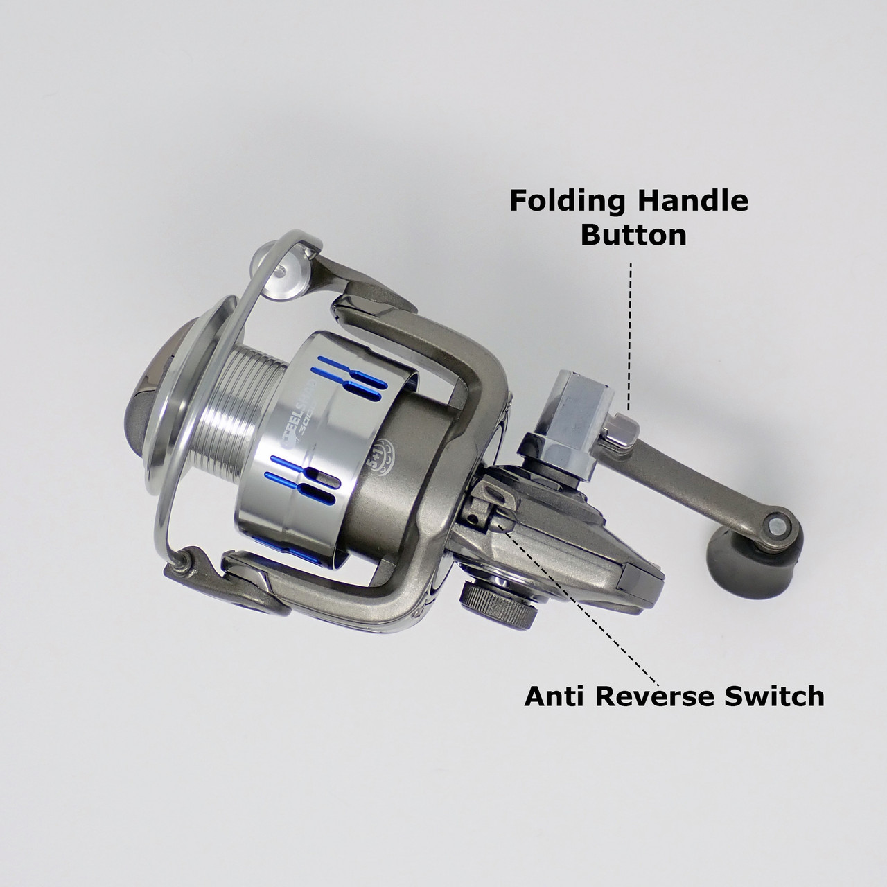 SteelShad 3000 Series Spinning Reel Parts Diagram