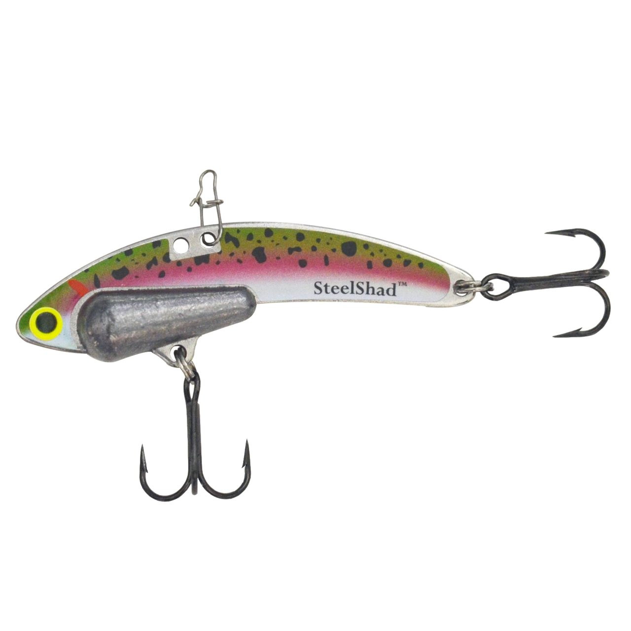 Trout Heavy Series - 1/2 oz., #8 VMC Black Nickle Hooks, and Line Clip